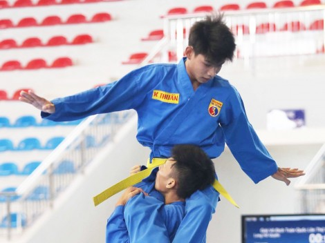Cần Thơ hạng Nhì toàn đoàn Giải vô địch trẻ Vovinam toàn quốc năm 2019