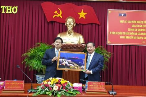 Lãnh đạo thành phố tiếp đoàn đại biểu cấp cao Thủ đô Viêng Chăn, Cộng hoà Dân chủ Nhân dân Lào