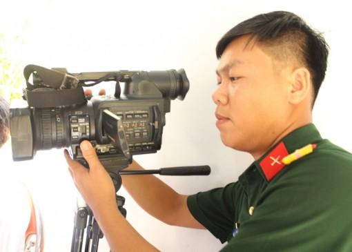 Thượng úy Nguyễn Văn Thắng – Người lính  đam mê nghề báo