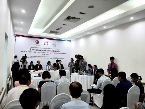 Bệnh viện quốc tế Phương Châu hợp tác với Nhật Bản phát triển lĩnh vực điều trị hiếm muộn