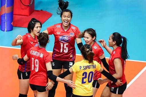 Ấn tượng bóng chuyền nữ Thái Lan