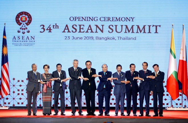 34th ASEAN Summit opened in Bangkok