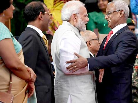 Ấn Độ tìm lại vị thế ở Maldives và Sri Lanka