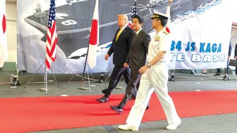 """Ông Trump """"xét lại"""" liên minh với Nhật?"""