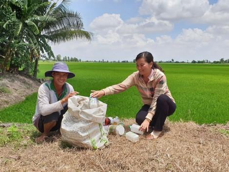 Vận động hội viên nông dân bảo vệ môi trường