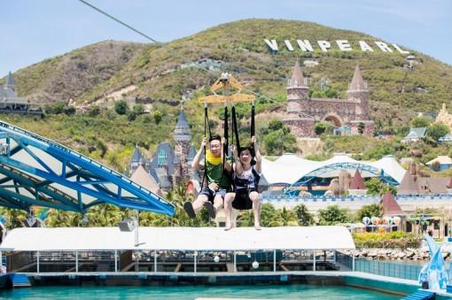 Khai trương đường trượt Zipline sở hữu 3 kỷ lục Việt Nam tại Vinpearl Nha Trang