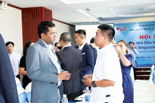 Kết nối giao thươngvới doanh nghiệp Singapore,Malaysia
