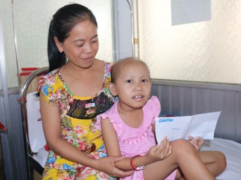 Bé Trinh cần tiếp sức điều trị bệnh ung thư buồng trứng