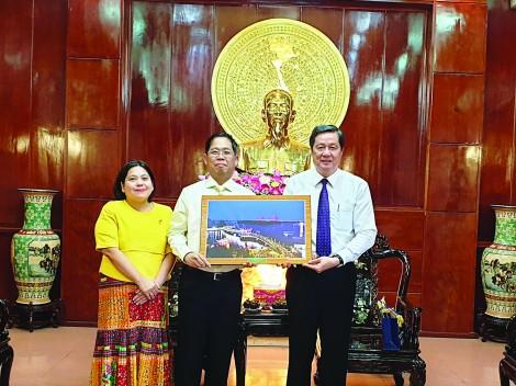 Lãnh đạo thành phố  tiếp Tổng Lãnh sự Thái Lan  tại TP Hồ Chí Minh