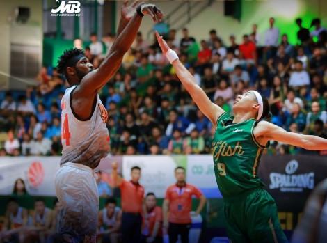 Giải Bóng rổ chuyên nghiệp Việt Nam VBA 2019: Cantho Catfish tiếp tục ghi trên 100 điểm