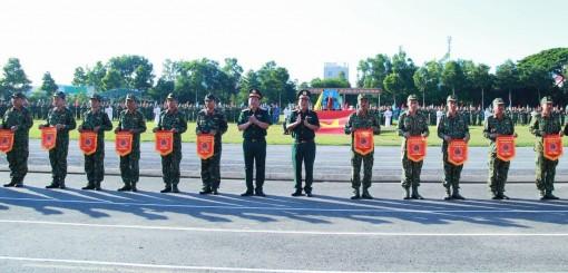 Khai mạc Hội thao Thể dục, thể thao lực lượng vũ trang Quân khu 9