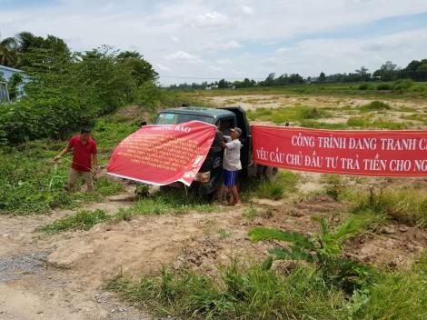 BOT Trung Lương - Mỹ Thuận nhẵn túi, nhà thầu đình công