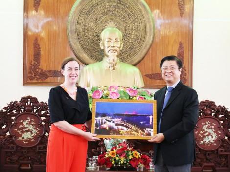 Lãnh đạo thành phố  tiếp Tổng Lãnh sự Australia tại TP Hồ Chí Minh