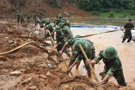 Quân đội - lực lượng nòng cốt trong ứng phó sự cố, thiên tai và cứu hộ, cứu nạn