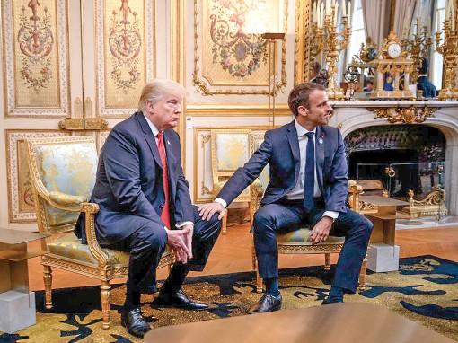 Mỹ, Pháp xỉa xói nhau