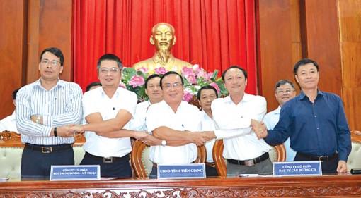 Ký kết phụ lục hợp đồng dự án cao tốc Trung Lương - Mỹ Thuận