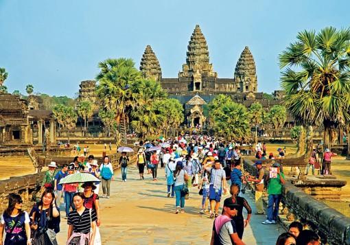 Campuchia siết chặt quy định bảo vệ môi trường đền Angkor Wat
