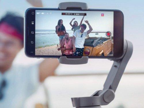 DJI bán ra tay cầm chống rung cho điện thoại mới Osmo Mobile 3