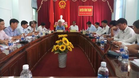 Sẵn sàng cho Lễ Công bố huyện nông thôn mới Vĩnh Thạnh