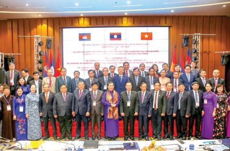 Hội nghị lần thứ 7 Ủy ban Đối ngoại của Quốc hội ba nước Campuchia-Lào-Việt Nam