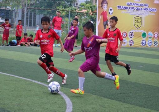 Sôi nổi Giải Bóng đá U10 tranh cúp CELA mở rộng năm 2019