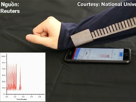 Vải thông minh tăng sóng không dây và tiết kiệm pin
