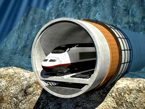 Siêu dự án hầm đường sắt  xuyên biển gặp trở ngại