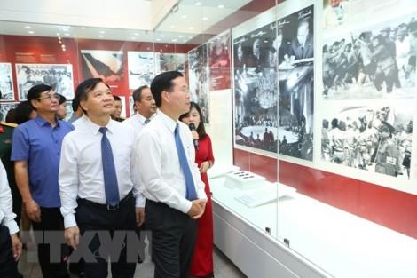 Khai mạc trưng bày 50 năm thực hiện Di chúc của Chủ tịch Hồ Chí Minh