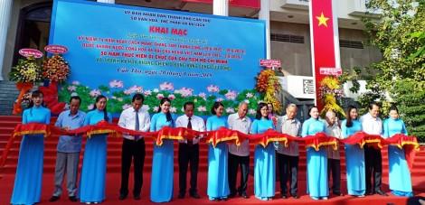 """Khai mạc triển lãm ảnh: """"50 năm thực hiện Di chúc của Chủ tịch Hồ Chí Minh"""""""