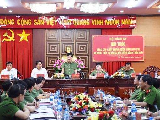 Tham gia xây dựng nông thôn mới  là nhiệm vụ chính trị thường xuyên của lực lượng Công an nhân dân
