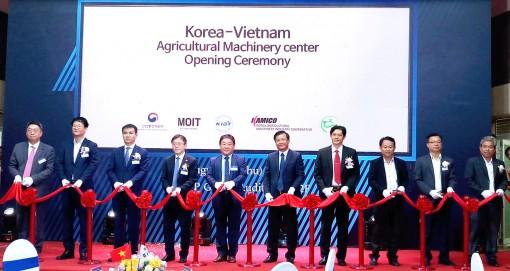 Khánh thành Trung tâm   Máy nông nghiệp Việt - Hàn