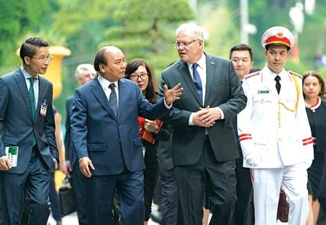 Ra Tuyên bố chung Việt Nam-Australia, hướng tới tầm cao mới