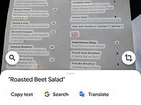 Google tung ra tính năng nhận dạng chữ trong ảnh cho Google Photos