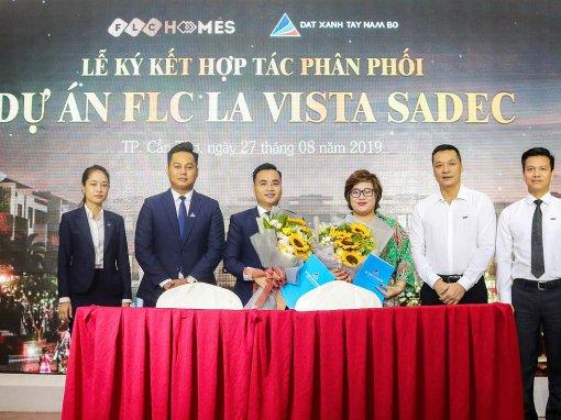 Đất Xanh Tây Nam Bộ hợp tác phân phối Dự án FLC La Vista Sadec