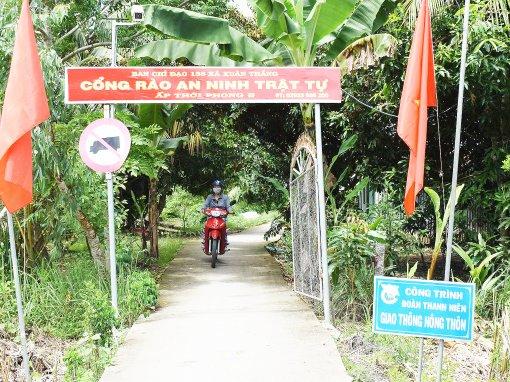 Lực lượng Công an nhân dân  góp sức xây dựng nông thôn mới