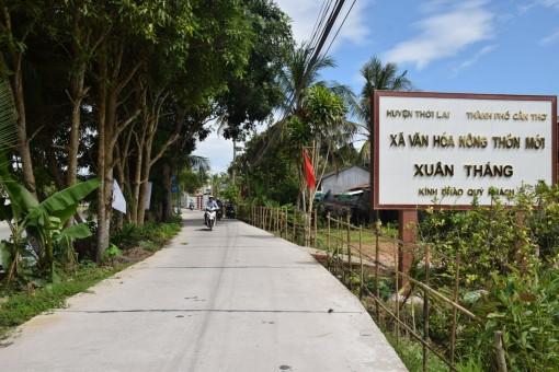 Diện mạo xã nông thôn mới Xuân Thắng
