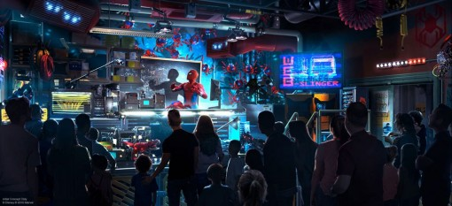 Disney xây công viên chủ đề  siêu anh hùng Avengers Campus