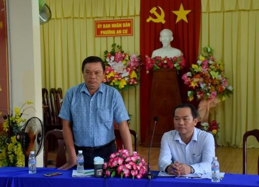 Quận Ninh Kiều họp báo thông tin việc lập lại trật tự ở chợ Cả Đài