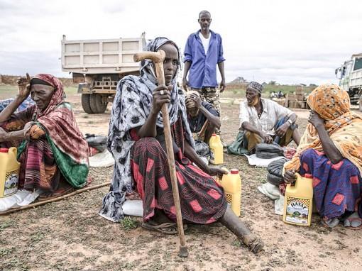 Nạn đói  hoành hành châu Phi