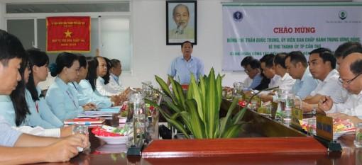 Bí thư Thành ủy làm việc với cán bộ chủ chốt Bệnh viện Nhi đồng TP Cần Thơ