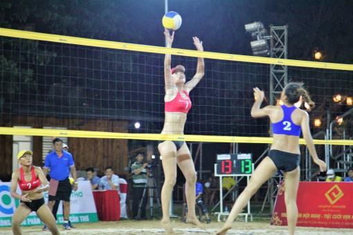 Khai mạc Giải vô địch Bóng chuyền bãi biển quốc gia 2019 tại Cần Thơ