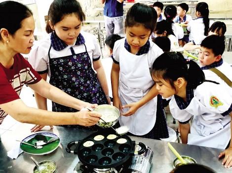 Học trải nghiệm - Nét nổi bật  của giáo dục tiểu học Cần Thơ