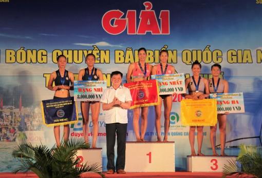 Bế mạc Giải vô địch Bóng chuyền bãi biển quốc gia 2019 tại Cần Thơ