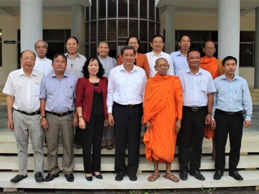 Thường trực Thành ủy gặp gỡ Đoàn đại biểu dự Đại hội Đại biểu toàn quốc MTTQVN