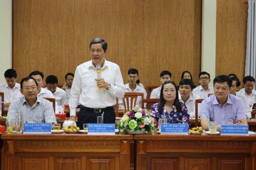 Lãnh đạo TP Cần Thơ làm việc với Quỹ Đầu tư phát triển TP Cần Thơ