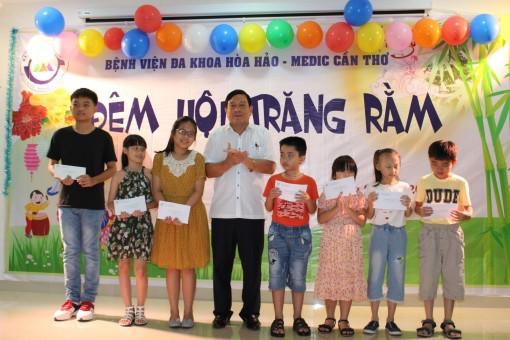 Bệnh viện Đa khoa Hòa Hảo Medic Cần Thơ  tổ chức lễ hội trăng rằm