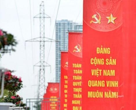 Vạch trần, làm thất bại âm mưu các thế lực thù địch chống phá đại hội đảng các cấp và Đại hội XIII của Đảng