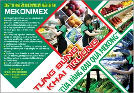 Công ty CP Nông sản thực phẩm xuất khẩu Cần Thơ Mekonimex