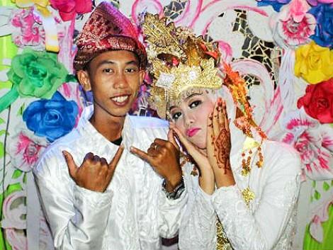 """Indonesia chống  """"hôn nhân trẻ em"""""""