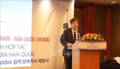 Vietnam-Korea businessmen and investment association debuts